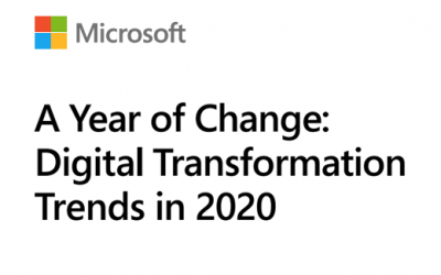 Digital Transformation – 2020 a year of change
