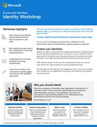 Microsoft Identity Management flyer img