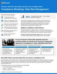Microsoft Security Workshop flyer img