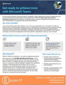 Microsoft Secure Work from Anywhere flyer img